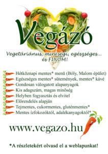 gluténmentes, vegetáriánus étterem Bólyban, Baranyában